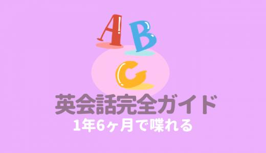 独学で【1年6カ月】僕が英語を話せるようになった勉強方法