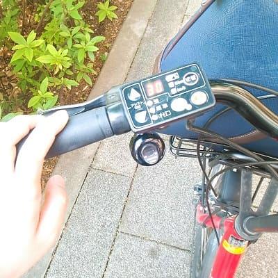 電動自転車の設定