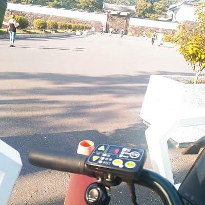 都内をレンタル自転車でサイクリング