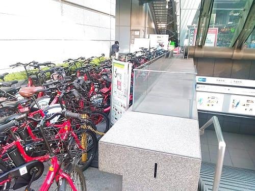 国際フォーラム・有楽町駅前のレンタルポート