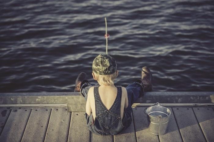 子供 釣り